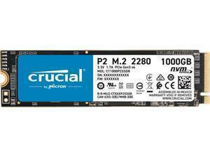 Crucial P2 1TB M.2 NVMe PCIe SSD