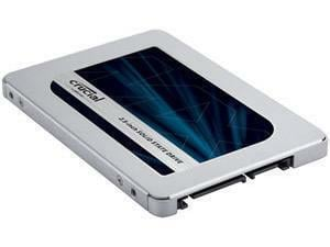 "Crucial MX500 2TB 2.5"" 7mm  SATA 6Gb/s Internal Solid State Drive - Retail"