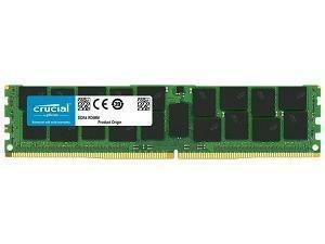 Crucial 32GB DDR4  2666MHz RDIMM ECC Registered memory module
