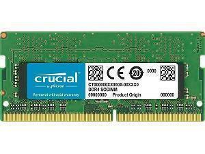 Crucial 4GB DDR4 2400MHz SO-DIMM Memory (RAM) Module