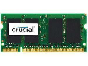 Crucial 4GB 1x4GB DDR3l PC3-12800 1600MHz SODIMM Module