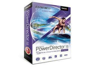 CyberLink PowerDirector 15 Ultimate - Creative Movie Making