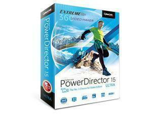 CyberLink PowerDirector 15 Ultra - The No.1 Choice For Video Editors