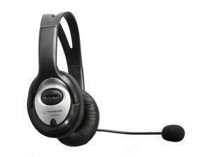 DYNAMODE Stereo USB Overhead Headphones & Microphone (DH-660USB)