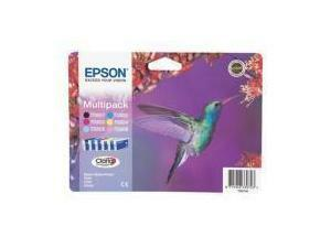 Epson T0807 Multipack (Black, Cyan, Magenta, Yellow, Light Cyan, Light Magenta)