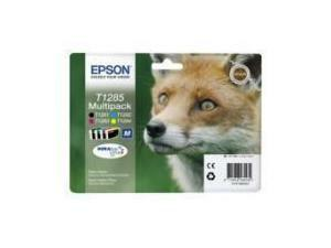 Epson T1285 Multipack Ink Cartridge (Black, Cyan, Magenta, Yellow)