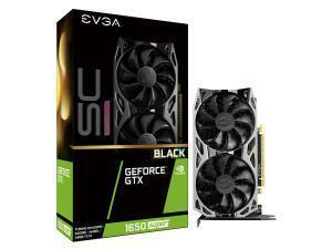 EVGA GeForce GTX 1650 Super SC Ultra Black 4GB Graphics Card