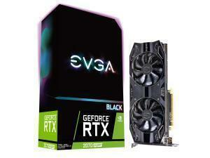 EVGA GeForce RTX 2070 Super Black Gaming 8GB Graphics Card