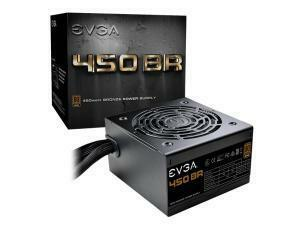 EVGA 450 BR, 80plus BRONZE 450W Power Supply