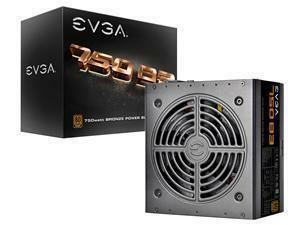 EVGA 750W B3 80+ Bronze Fully Modular Power Supply