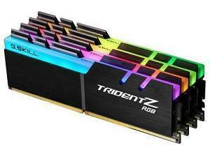 G.Skill Trident RGB 2400MHz 32GB (4 x 8GB) DDR4 Memory Kit