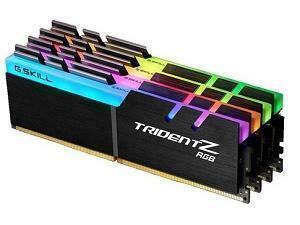 G.Skill Trident RGB 64GB (4 x 16GB Kit) DDR4 2400MHz Quad Channel Memory (RAM) Kit