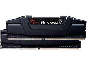 G.Skill Ripjaws V Black 16GB (2x8GB) DDR4 PC4-25600 3200MHz Dual Channel Kit