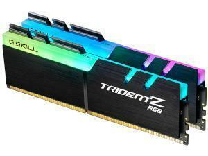 G.Skill Trident RGB 16GB 2 x 8GB DDR4 3600MHz Dual Channel Memory RAM Kit
