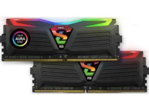 GeIL Super Luce RGB 16GB (2 x 8GB) DDR4 2666MHz Dual Channel Memory (RAM) Kit