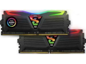 GeIL Super Luce RGB 16GB (2 x 8GB) DDR4 3000MHz Dual Channel Memory (RAM) Kit