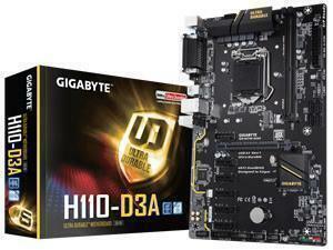 *B-stock item 90 days warranty* Gigabyte GA-H110-D3A ATX Mining Motherboard