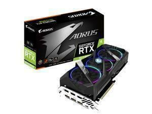 *B-stock item-90 days warranty*Gigabyte Aorus GeForce RTX 2070 Super 8GB Graphics Card