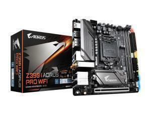 *B-stock item - 90 days warranty*Gigabyte Z390 I AORUS PRO WIFI Z390 LGA 1151 Mini-ITX Motherboard