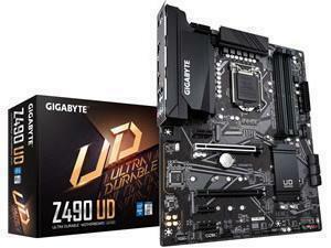 *B-stock item - 90 days warranty*Gigabyte Z490 UD LGA 1200 Z490 Chipset ATX Motherboard