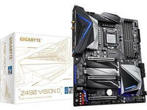 *B-stock item - 90 days warranty*Gigabyte Z490 Vision D LGA 1200 Z490 Chipset ATX Motherboard