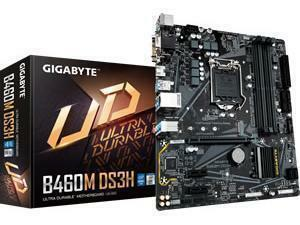 Gigabyte B460M DSH LGA1200 B460 Chipset mATX Motherboard