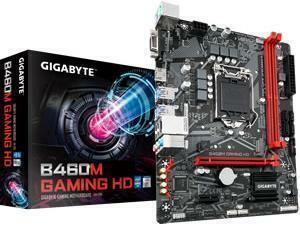 Gigabyte B460M Gaming HD LGA1200 B460 Chipset mATX Motherboard