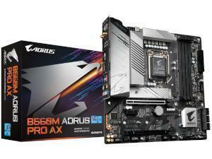 GIGABYTE B560M AORUS PRO AX Intel B560 Chipset (Socket 1200) Motherboard