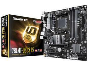 Gigabyte GA-78LMT-USB3 R2 AMD AM3plus Micro-ATX Motherboard