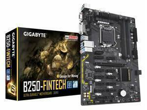 Gigabyte GA-B250-FINTECH ATX Mining Motherboard