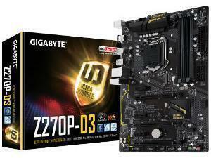 GIGABYTE GA-Z270P-D3 Intel Z270 Socket 1151 ATX Motherboard