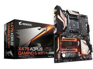 Gigabyte X470 Aorus Gaming 5 Wi-Fi AMD X470 AM4 ATX Motherboard