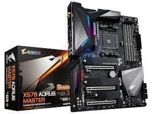 Gigabyte X570 Aorus Master AMD AM4 X570 Chipset ATX Motherboard