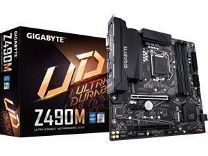 Gigabyte Z490M LGA 1200 Z490 Chipset Micro ATX Motherboard