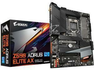 GIGABYTE Z590 AORUS ELITE AX Intel Z590 Chipset Socket 1200 Motherboard