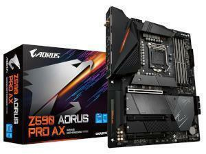 GIGABYTE Z590 AORUS PRO AX Intel Z590 Chipset Socket 1200 Motherboard