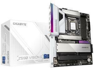 GIGABYTE Z590 VISION G Intel Z590 Chipset Socket 1200 Motherboard