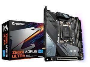 GIGABYTE Z590I AORUS ULTRA Intel Z590 Chipset (Socket 1200) Motherboard