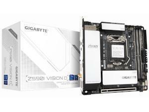 GIGABYTE Z590I VISION D Intel Z590 Chipset Socket 1200 Motherboard