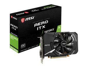 MSI GeForce GTX 1660 Super Aero ITX OC 6GB Graphics Card