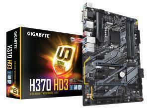 Gigabyte H370 HD3 LGA1151 H370 ATX Motherboard