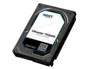 "HGST Ultrastar 7K6000 3.5"" Data Center Hard Drive - 2TB - SAS 12GB/s - 7200RPM"