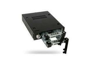 "Icy Dock ToughArmor MB992SK-B 2x2.5"" SATA Mobile Rack For 3.5"" Device Bay"