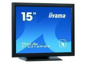 *B-stock item - 90 days warranty*iiyama ProLite T1531SR-B5 15inch LCD Touchscreen Monitor - 4:3 - 8 ms