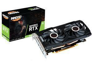 INNO3D NVIDIA GeForce RTX 2060 TWIN X2 6GB GDDR6 Graphics Card