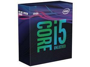 *B-stock item - 90days warranty*Intel Core i5 9600KF Unlocked Coffee Lake Desktop Processor/CPU Retail
