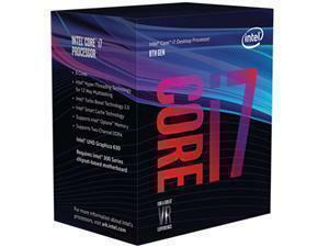 Intel Core i7 8700K 3.7GHz 8th Gen Coffee Lake Processor/CPU Retail