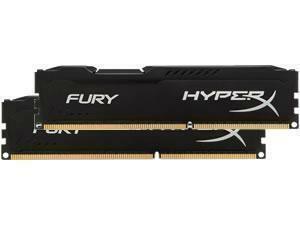 Kingston HyperX Fury Black 8GB 2x4GB DDR3 PC3-12800 1600MHz Dual Channel Kit