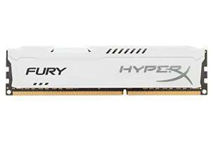 Kingston HyperX Fury White 8GB (1x8GB) DDR3 PC3-12800 1600MHz Single Module