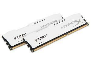 Kingston HyperX Fury White 8GB (2x4GB) DDR3 PC3-12800 1600MHz Dual Channel Kit